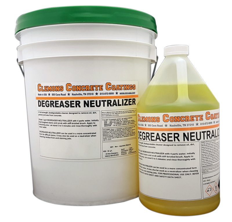 Cleaner degreaser 1 gallon concrete cleaners for Best degreaser for concrete